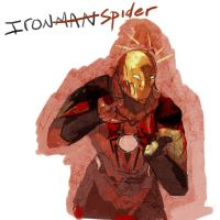 Ironman errr Spider by Puillustrated