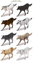Natural Wolf Adopts CLOSED by NathalieNova