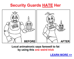 Security Guards Hate Her by kinginbros2011