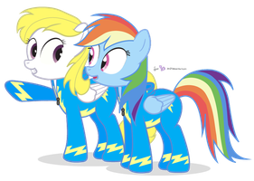 Wonderbolt Siblings [!R] by dm29