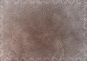 Brown Paper with Daisy Border by PaulineMoss