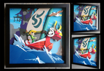Commission: The Wind Waker Shadowbox by The-Paper-Pony
