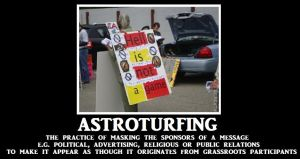 Astroturfing by Valendale