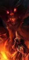 Through the Inferno by Lilaccu