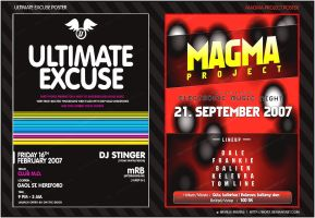 Ultimate Ex_01 + Magma Flyer by nofx