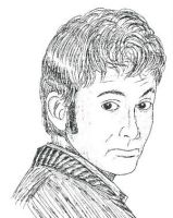 David Tennant Sketch by Carthoris
