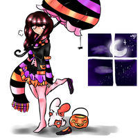 x:Lets go trick or treating!:3 by Doki-i