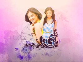Blend Lucy Hale by AkiBrowning