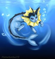 Vaporeon Request by Flamefeather13