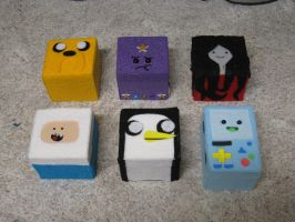 Adventure Time Treasure Boxes by xxx-TeddyBear-xxx