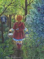 Little Red Riding Hood by AlesiaPukhova