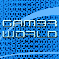 Gam3rW0rld Icon Blue by FlawlessBackgrounds