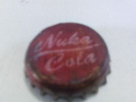 First Nuka Cola Cap by Nosejobsandchampagne