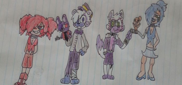 Unr3al Sister Location characters  by asksteve121