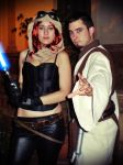 Mara Jade and Gardek Mon at JEHES 7 by Gardek