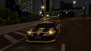 GT5 Toyota Celica Race Car by Squall-Darkheart