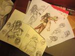 Adira Asal Fansketches by Burntherabbitout