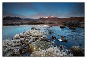 Lochan na stainge , Rannoch Mo by DL-Photography