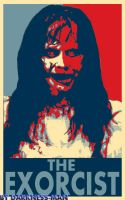 THE EXORCIST HOPE POSTER by Darkness-Man