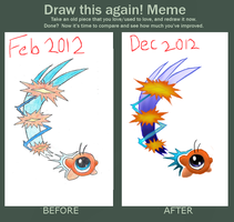 Draw it again: Waddle Doo by citreneowl
