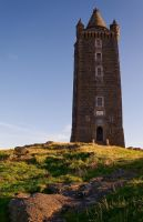 Scrabo Tower from the Front by Gerard1972