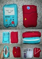 DS Cases: BMO and Pokedex by Spirate