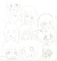 OC Expressions 2 by mitsukihiroshi32