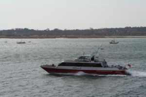 Red Funnel Red Jet 1 by tammyins