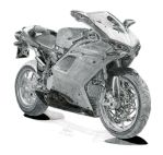 Ducati 1098R by footiedavana