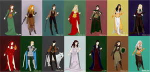 Westeros ladies 2 by fatlemons