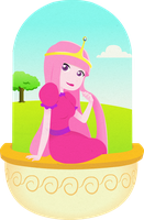Princess Bubblegum by Sinapi