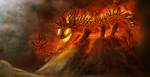 Fire Colossus by Varatera