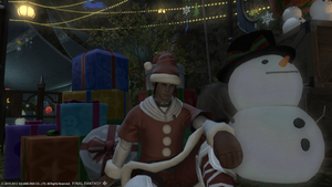 Christmas in FF14 by Anime-Master
