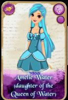 Ever After High: Amelie Water by KariaHearts56789
