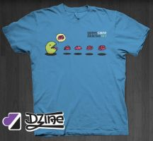 Dzine Clothing Zombie Pac Man by DzineClothing