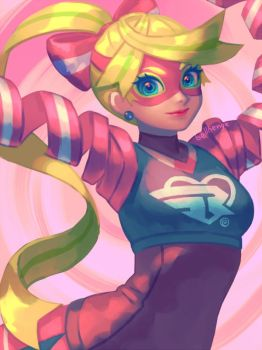 Ribbon Girl by bellhenge