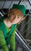 LINK, HE COME TO TOWN by AnyaPanda