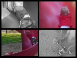 The Big Red Slide by Snayke180