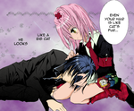Ikuto and Amu by MoonFaerie24