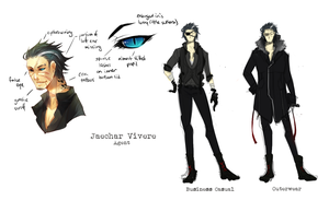 :Jaechar: Design Sheet by Chuuchichu