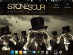 My Ubuntu Stone Sour Desktop by dA5235