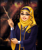 Miss Merry of Hufflepuff by jbramx2