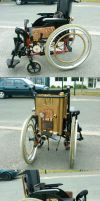 Steam-fauteuil by Fura-Falevan