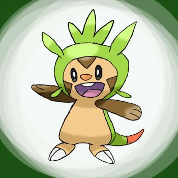 Chespin by Bubblem1st