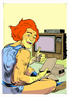 Lion-O TV by Laemeur