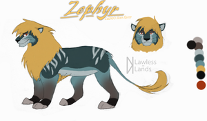OC - Zephyr the quiet storm by Lawless-Lands