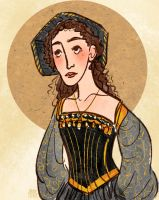 Anne Of Cleves by aberry89