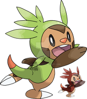 650 - Chespin by Tails19950