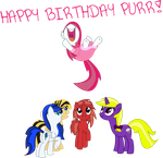 HAPPY BIRTHDAY :DDD by TheLittleDashie