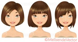 Haircut set 1 by Melisendevector